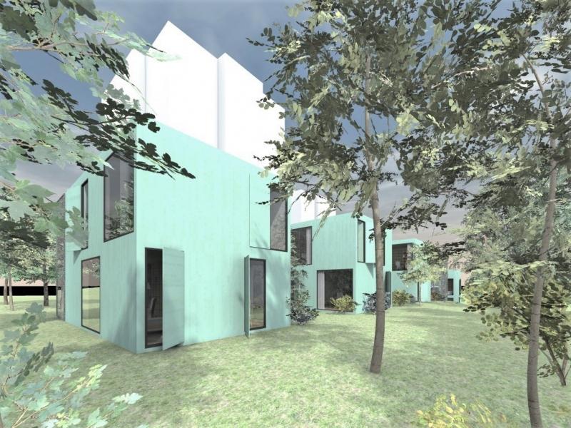 Modulárny dom pre seniorov, Praha, 2012, Lucký architects